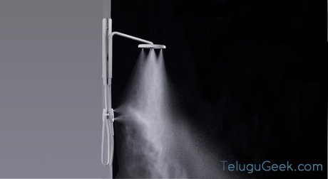 """nebia """"shower """" ఒక కొత్త అనుభూతి తో నీటి ని ఆదా చెయ్యండి"""