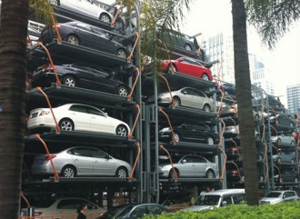 vertical car parking