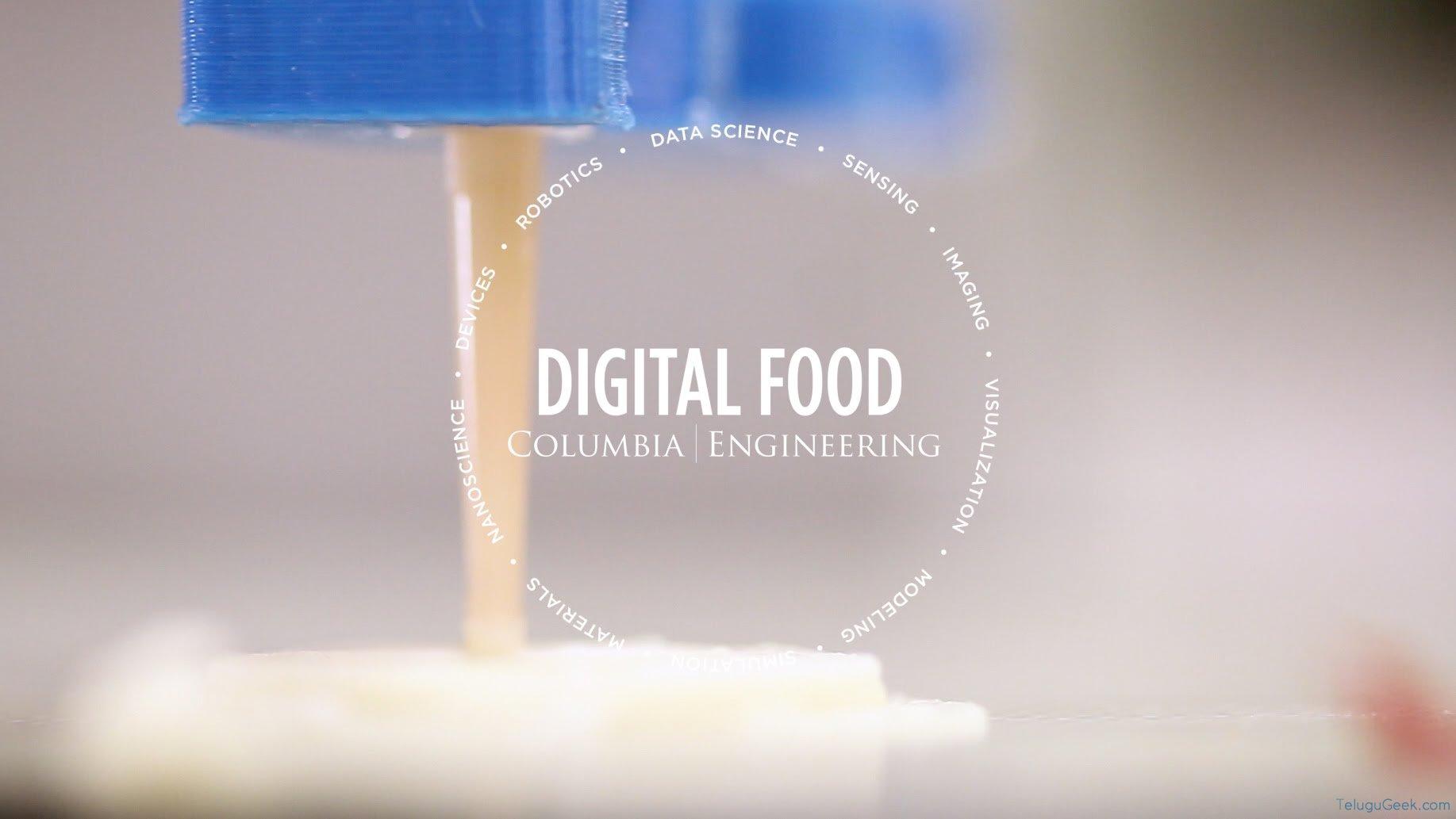Digital Food: 3D ఫుడ్ ప్రింటర్తో మారుతున్న ప్రపంచానికి సరి కొత్త రుచి