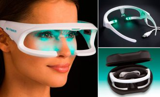 Re-timer smart goggles to prevent type 2 diabetes