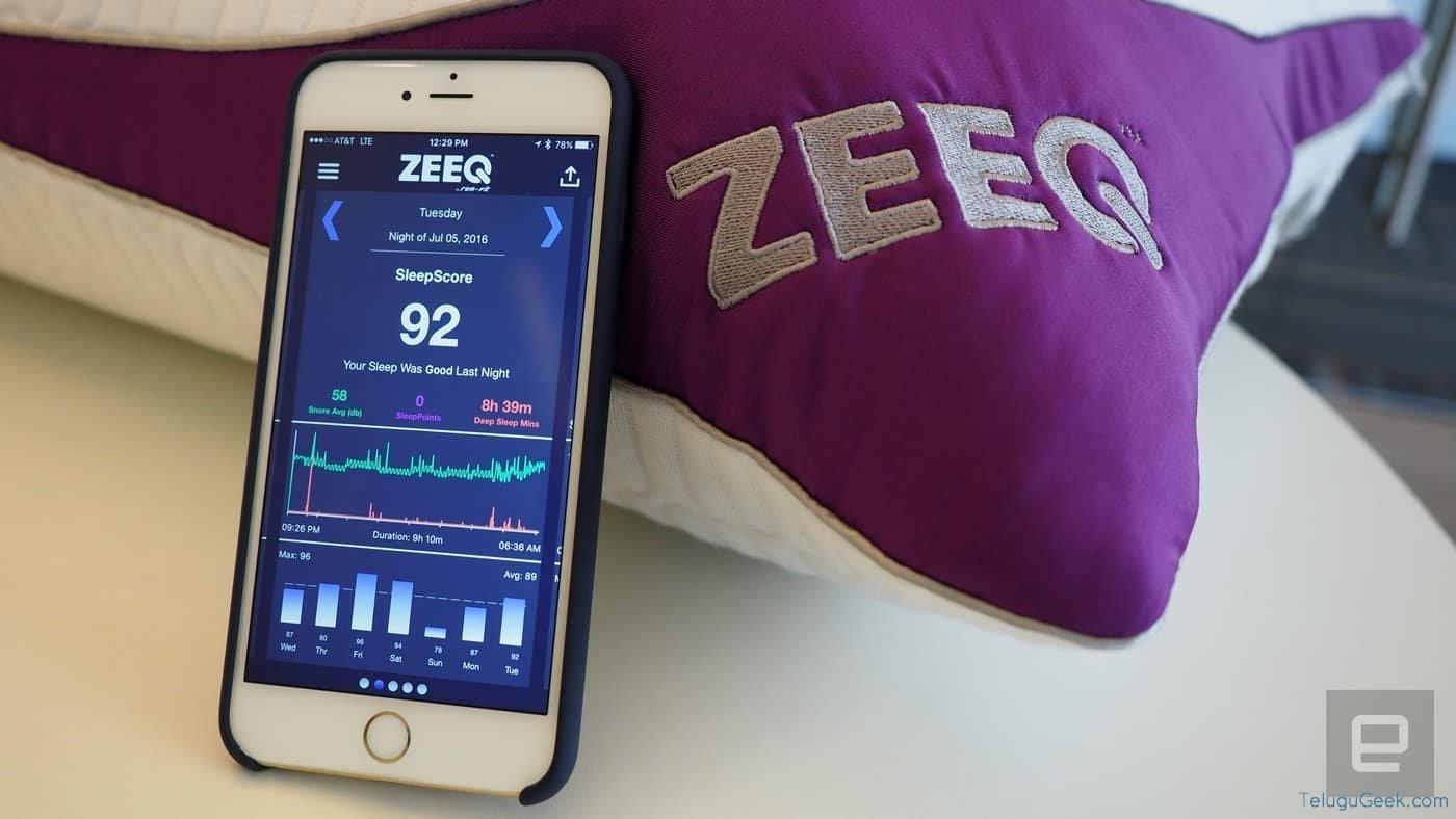Zeeq: పాటలు పాడి నిద్రపుచ్చే స్మార్ట్ పిల్లో