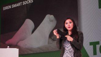 Siren smart socks