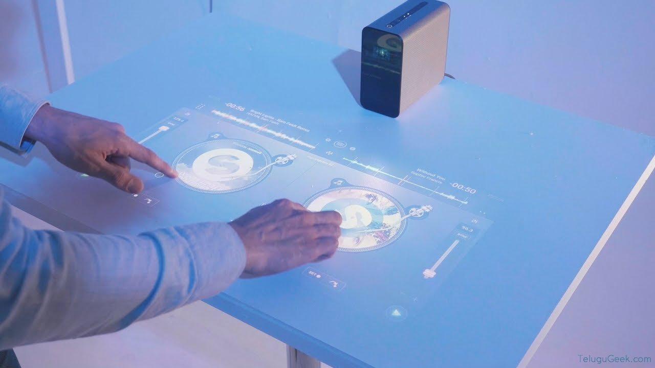 Sony Xperia Touch Projector: ఏ ప్రదేశాన్నైనా టచ్ స్క్రీన్ డిస్ప్లే లా మార్చే ప్రొజెక్టర్