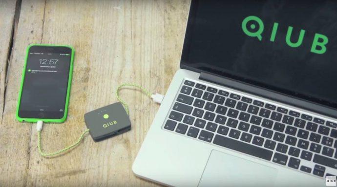 QIUB smart power bank