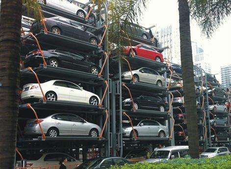 Vertical Car Parking – కార్ పార్కింగ్ ప్రాబ్లం కి ఒక సరికొత్త సమాధానం