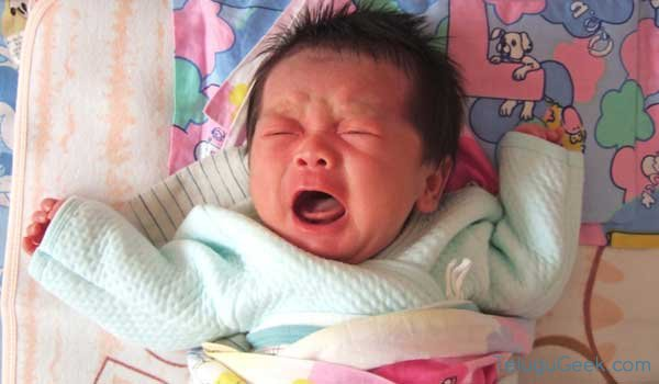 How to calm down the crying babies