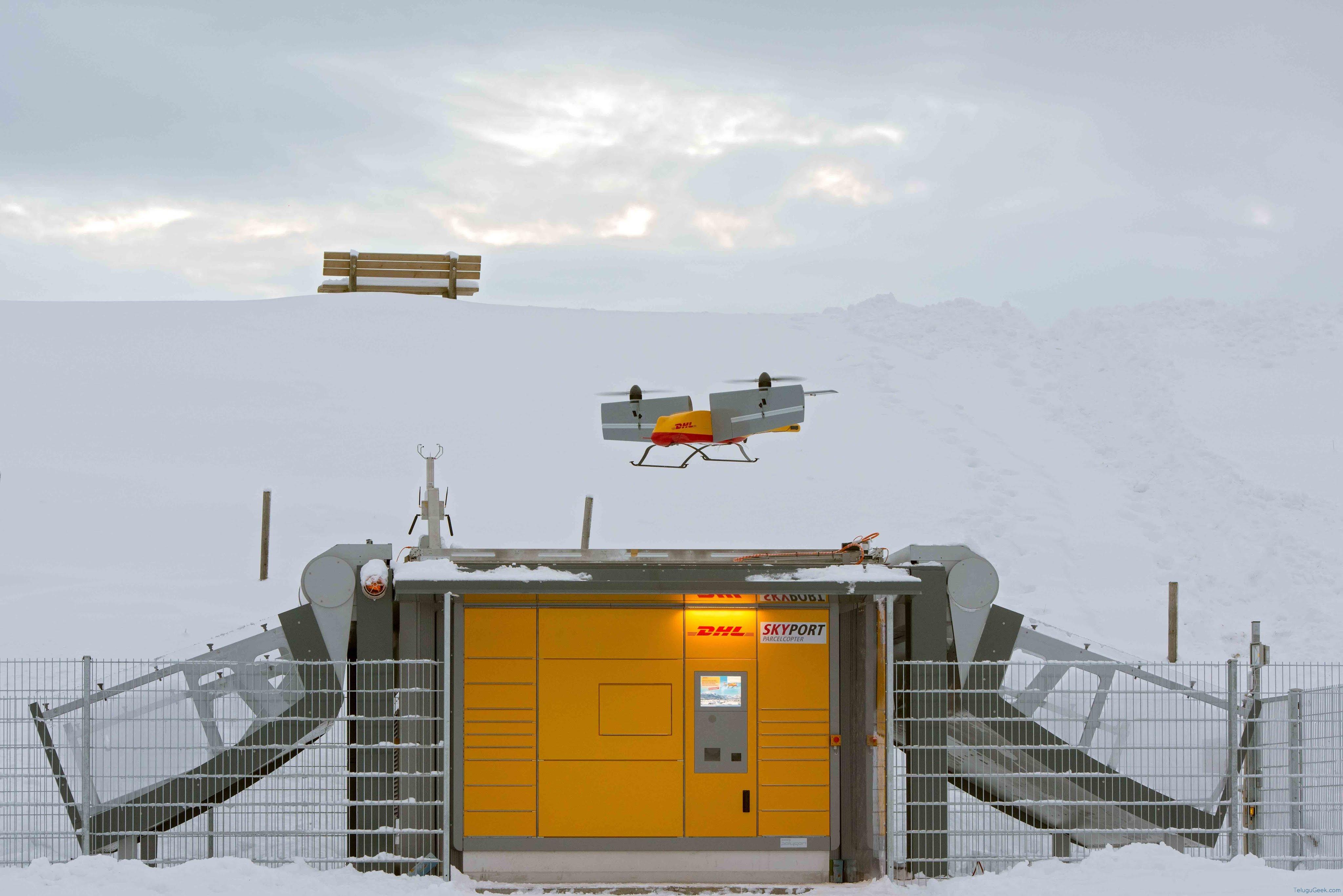 DHL Parcelcopter 3.0: రవాణా రంగంలో పెను విప్లవానికి దారి తీయనుంది