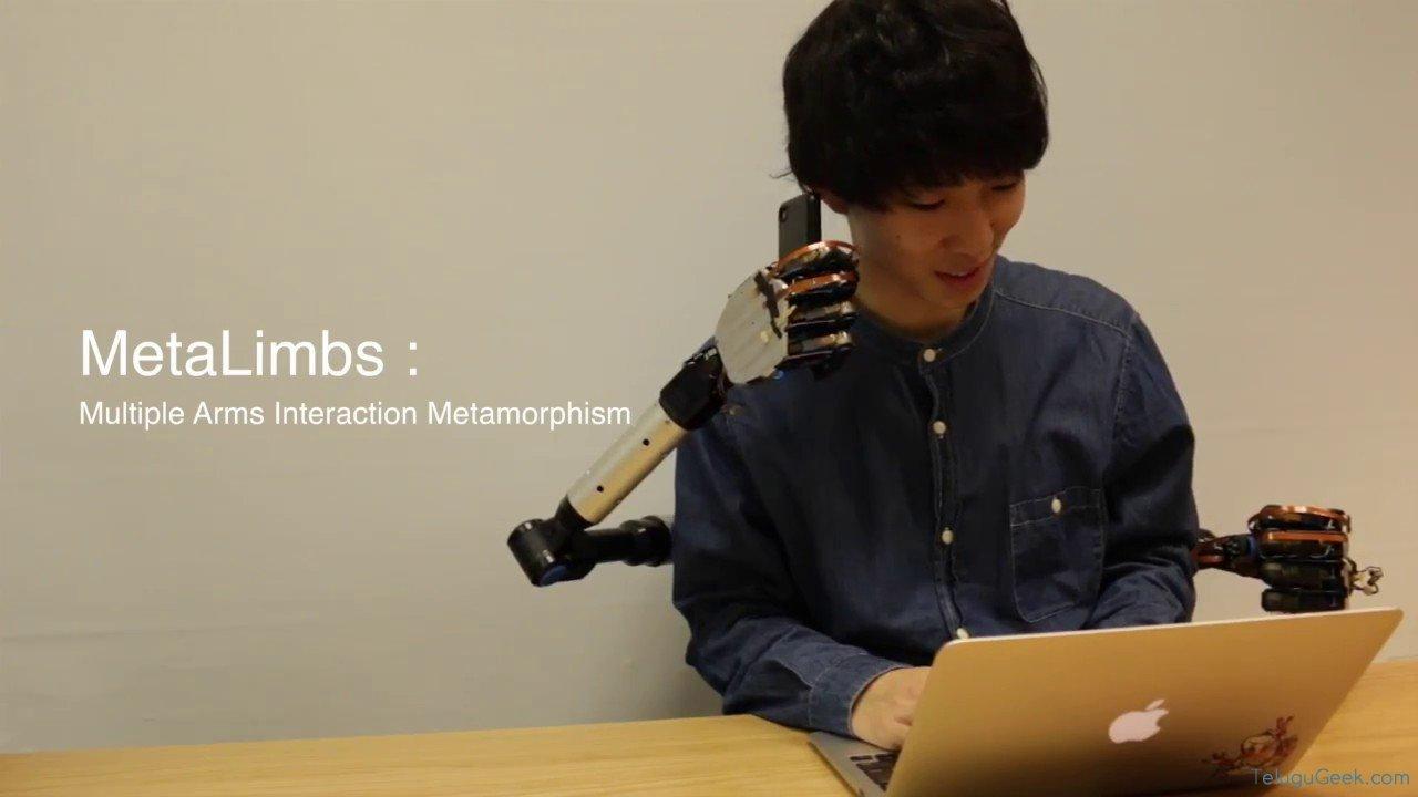 MetaLimbs: మరో రెండు చేతులు కావాలా